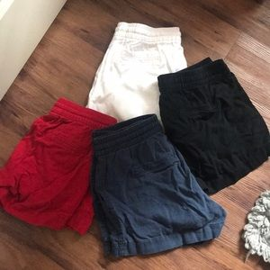 Four pairs of old navy shorts!